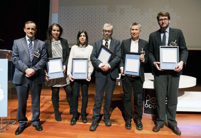 Premios-Valores-Papel-2016-Enrique-Isidro-ASPAPEL-Natalia-Sagalés-Honda-Noelia-Lozano-Antonio-Muñoz-Molina-Enrique-Rubio-Cuadernos-Rubio-Joaquín-Domínguez-M